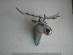 Aluminium Wall Mounted Moose Head