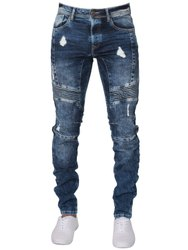 Casual Wear Comfort Fit Mens Ripped Denim Jeans, Waist Size: 28 to 42