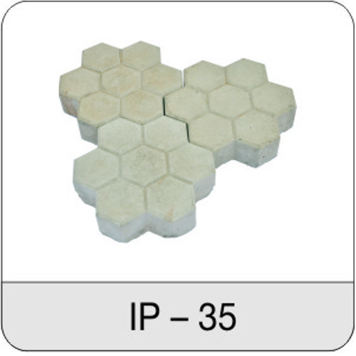 Hexagonal Boxes Interlocking Paver, For Pavement