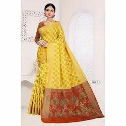 Traditional Rich Pallu Silk Saree