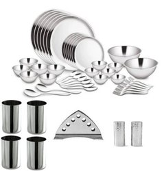 Dinner Set of 41 Pcs Double Wall