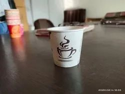Multicolor Hot Coffee Paper Cup for Parties, Capacity: 45 mL