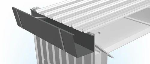 Roofing Sheet Rain Water Gutter Maharaja Roofing