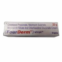 Fourderm Skin Cream, For Medical, Ingredients: Chemical