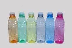 Multicolor Screw Cap Fridge Bottles, Capacity: 1 Ltr Approx
