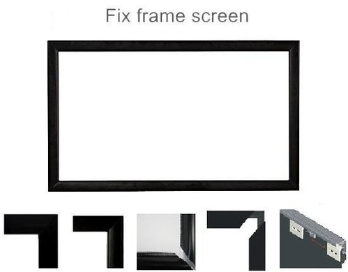 Fixed Frame Projector Screens at Rs 15000 /piece | Projection ...