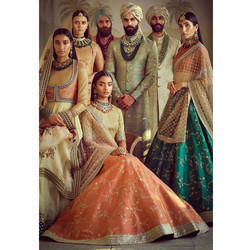 Wedding Designer Art Silk Lehenga