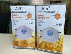 Air  N95 Face Mask With Respirator Valve