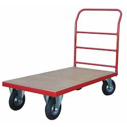 Mild Steel SS Platform Trolley, For Industrial, Load Capacity: 50-100 Kg