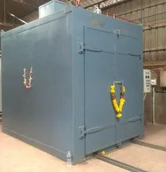 SBI Steel Powder Coating Ovens, Automation Grade: Automatic, Capacity: 2000-3000 Kg