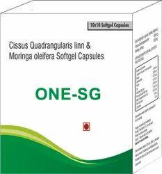 Cissus Quadrangularis Inn and Moringa Oleifera Softgel Capsules