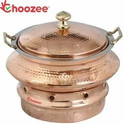 Hammered Round Chafing Dish