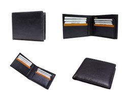 Genuine Leather Wallet For Men RFID Blocking