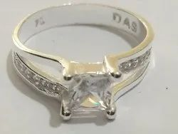 Round DAS Female Silver Fancy Ring