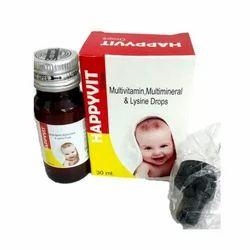 Multivitamin Multimineral & Lysine Drops