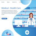 Healthcare Website Development Service