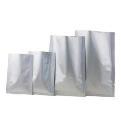 Bopp Plain Silver Packaging Pouches