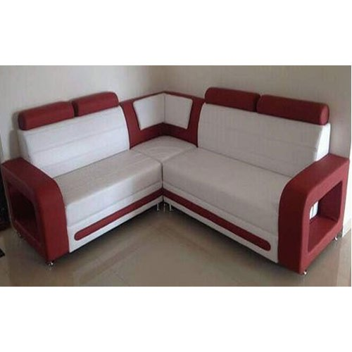 Pleasing Red And White Corner Sofa Set Cjindustries Chair Design For Home Cjindustriesco