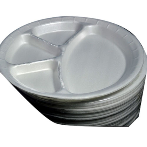 White 4 Compartment Disposable Plates  sc 1 st  IndiaMART & White 4 Compartment Disposable Plates Rs 3 /piece Gulab ...