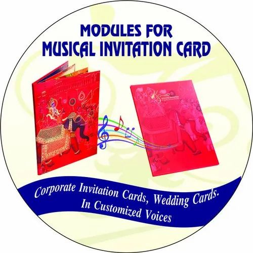 Designer Indian Wedding Marriage Invitation Card Module With Tamil Music Nadeshwaram