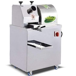 SYGA Stainless Steel Sugarcane Juice Machine without Battery for Office