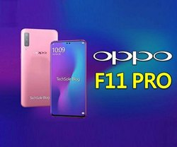 OPPO F11 Pro, 4 GB, Camera: 48 MP + 5 MP Dual