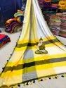 Khadi Cotton Dual Shaded Saree