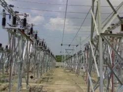 33 KV Outdoor Switch Yard Substation Structure Design