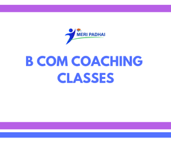 B Com 2nd Year Commerce Coaching Services