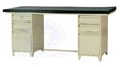 Standard Steel White Hospital Examination Couch, 72x23x30, Size: 72x24x36