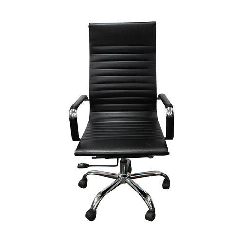 Remarkable Black Leather Office Chair Gmtry Best Dining Table And Chair Ideas Images Gmtryco
