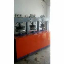 3 Dies Hydraulic Areca Plate Making Machine