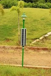 Solar Hex Garden Light