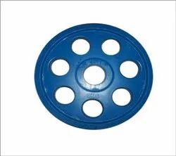 Roxan 7 Hole Olympic Rubber Plate