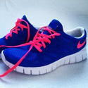 Blue, Pink Mens Sports Shoes