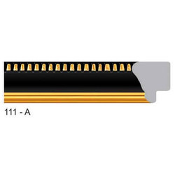 111-A Series Black Frame Moldings