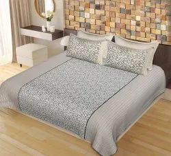 Double Size Bed Sheets with Pillow Covers