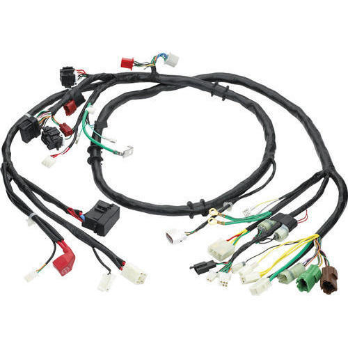 two wheeler wiring harness at rs 450 piece motorcycle wire rh indiamart com motorcycle wiring harness kit motorcycle wiring harness connectors