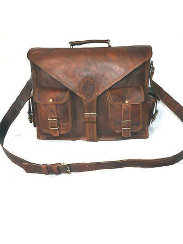 6b99ca98480a Mens Brown Leather Side Bag