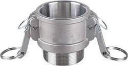 Perfect MS Camlock Coupling Type B, Size: 1/2 inch , for Gas Pipe