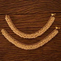 Antique Classic Payal with Gold Plating 200655