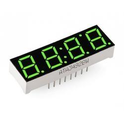 Green Seven Segment Display