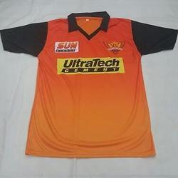 11c4febff Men Orange Colour Sunrises Hyderabad Jersey