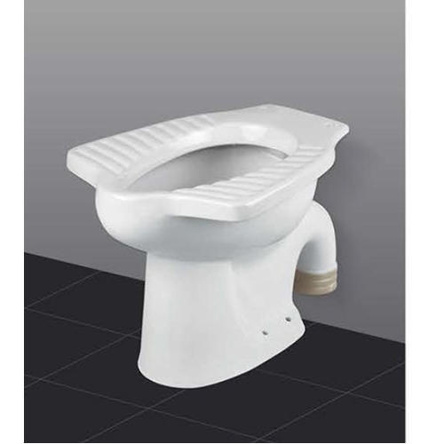 Ceramic White S Trap Water Closet