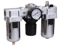 FRL Sets 3 Pc With Pressure Gauge