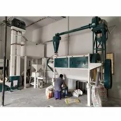 200kg Par Hours Industrial Flour Mill Machine