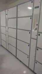 Ms Biometric Staff Locker, No Of Lockers: 24