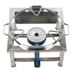 Stainless Steel Bhatti, Number of Burners: 1 Burner