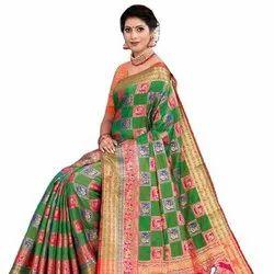 Wedding Wear Latest Banarasi Silk Saree