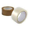 Credible Industries Brown Plain Bopp Tape Roll, Packaging Type: Box